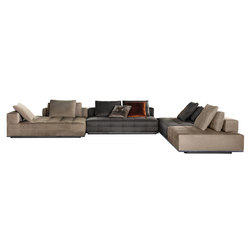 Lawrence Seating System | Modular sofa systems | Minotti