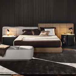 Lawrence Bed | Lits doubles | Minotti