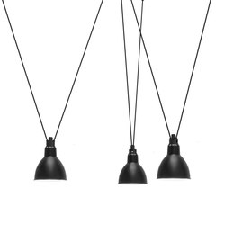 LES ACROBATES DE GRAS - N°325 black | Suspended lights | DCW éditions