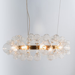 Circle Light | Ceiling suspended chandeliers | Isabel Hamm