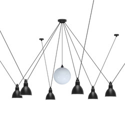 LES ACROBATES DE GRAS - N°327 black | Suspended lights | DCW éditions