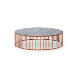 Caulfield Outdoor Coffee Table | Tables basses de jardin | Minotti