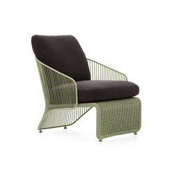 Colette Outdoor Armchair | Sessel | Minotti