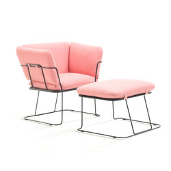 MERANO ME01 & ME02 NEV524 | Garden armchairs | B-LINE