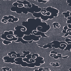 Washi | Contes de pluie et de lune RM 222 49 | Wall coverings / wallpapers | Elitis