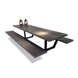 Cassecroute Table Concrete | Restaurant seating systems | CASSECROUTE
