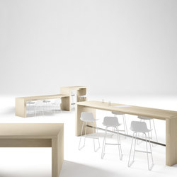 Zubi | Standing meeting tables | Sellex