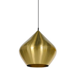 Beat Stout Pendant Brass | General lighting | Tom Dixon