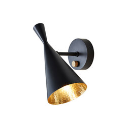 Beat Wall Light Black | Lámparas de pared | Tom Dixon