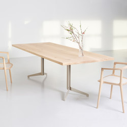 LYNX Rectangular table | Tables de repas | Zoom by Mobimex