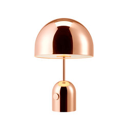 Bell Table Light Copper | Éclairage général | Tom Dixon