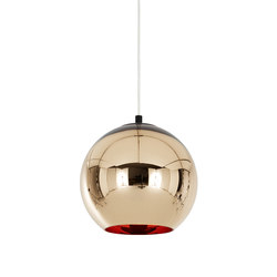Copper Bronze Pendant 25cm | General lighting | Tom Dixon