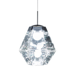 Cut Tall Pendant Chrome | Suspended lights | Tom Dixon
