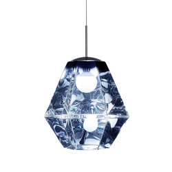 Cut Tall Pendant Smoke | General lighting | Tom Dixon