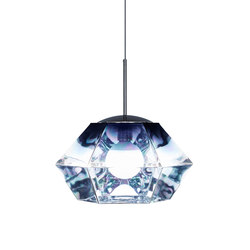 Cut Short Pendant Smoke | General lighting | Tom Dixon