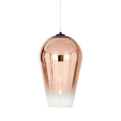 Fade Pendant Copper 50cm | General lighting | Tom Dixon