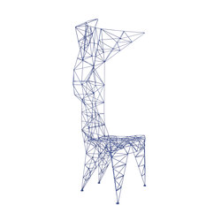 Pylon Chair Blue | Restaurant chairs | Tom Dixon