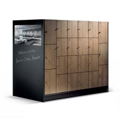 Cambio Garderobenschrank S 6000 | Benches | C+P Möbelsysteme