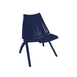 Lotos Chair | blue | Sillas de jardín | POLITURA