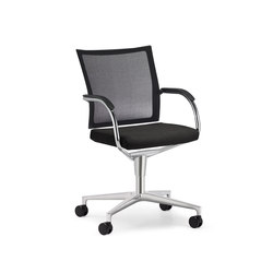 Orbit Network conference swivel chair | Visitors chairs / Side chairs | Klöber