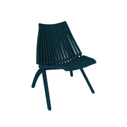 Lotos Chair | dark-turquise | Sillas | POLITURA