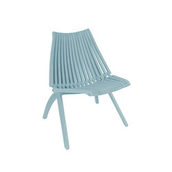 Lotos Chair | greyblue | Sillas de jardín | POLITURA