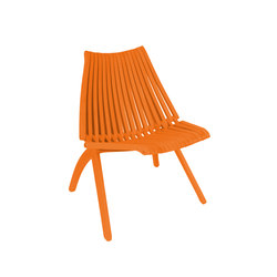 Lotos Chair | orange | Sillas de jardín | POLITURA