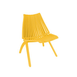 Lotos Chair | yellow | Sillas de jardín | POLITURA