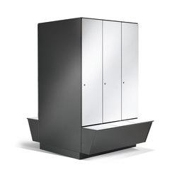 Prefino Garderobenschrank | Casiers / Vestiaires | C+P Möbelsysteme