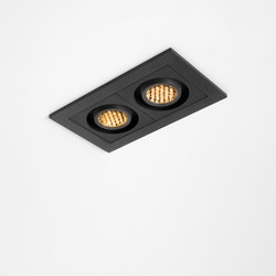 Qbini 2 x round in LED GE | Éclairage général | Modular Lighting Instruments