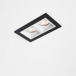 Qbini 2 x square in LED GE | Allgemeinbeleuchtung | Modular Lighting Instruments