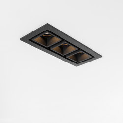 Qbini 3 x square out LED GE | Illuminazione generale | Modular Lighting Instruments