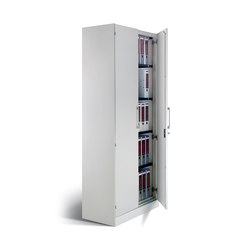 SonicWall Akustik-Flügeltürenschrank Steel | Cabinets | C+P Möbelsysteme