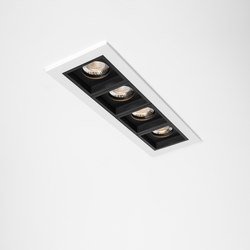 Qbini 4 x square in LED GE | Éclairage général | Modular Lighting Instruments