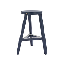 Offcut Stool 650mm Grey | Barhocker | Tom Dixon