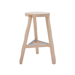 Offcut Stool 650mm Natural | Taburetes de bar | Tom Dixon