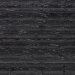 Rustica®Chopped | Black Knotty Spruce | Wood panels | europlac