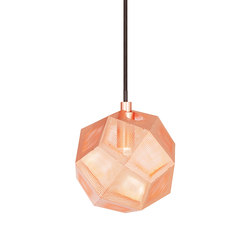 Etch Mini Pendant Copper | General lighting | Tom Dixon