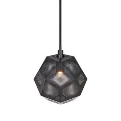 Etch Mini Pendant Black | General lighting | Tom Dixon