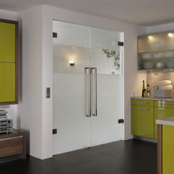 Swing Doors - Full Glass | Portes d'intérieur | Bartels Doors & Hardware