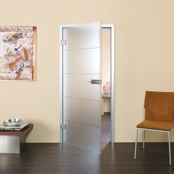 Swing Doors - Full Glass | Portes intérieures | Bartels Doors & Hardware