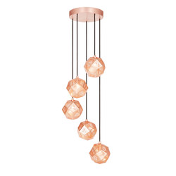 Etch Mini Chandelier Copper | General lighting | Tom Dixon
