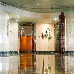 Specialty Doors - Curved Glass Doors | Portes intérieures | Bartels Doors & Hardware