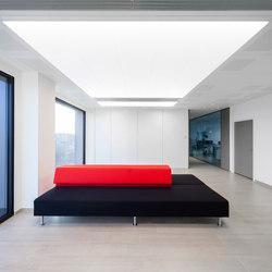 In-Tile Workspace Lighting | Suspended ceilings | Kreon