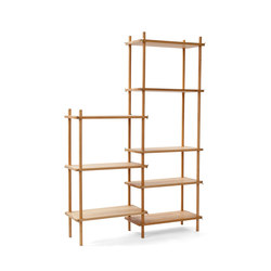 Le Belge System example set 8 levels | Shelving | Vij5