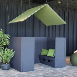 The Hut Roof | Acoustic panels | Götessons