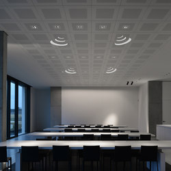 On-Tile Audio | Recessed ceiling lights | Kreon