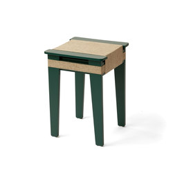 Wrapped | green-blue | Stools | Vij5