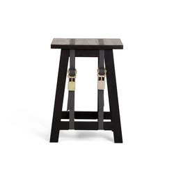 Strap Stool | Black Edition | Tabourets | Vij5