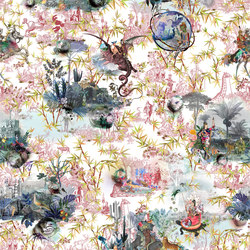 Au Thèâtre Ce Soir Fabrics | Reveries Tomette | Curtain fabrics | Designers Guild